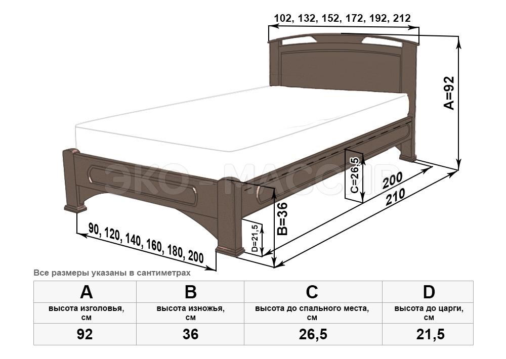 Кровать своими руками чертежи кроватей 13